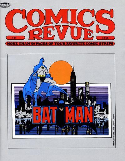 Cover for Comics Revue (Manuscript Press, 1985 series) #41