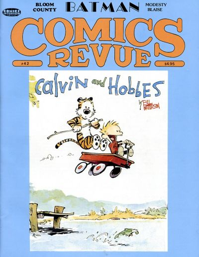 Cover for Comics Revue (Manuscript Press, 1985 series) #42