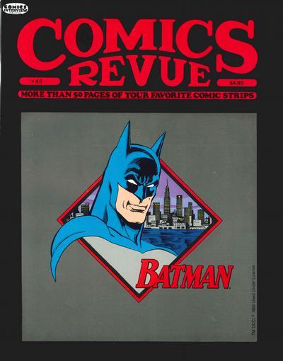 Cover for Comics Revue (Manuscript Press, 1985 series) #45