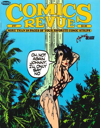 Cover for Comics Revue (Manuscript Press, 1985 series) #47