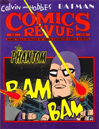 Cover for Comics Revue (Manuscript Press, 1985 series) #48