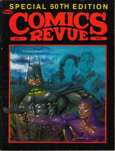 Cover for Comics Revue (Manuscript Press, 1985 series) #50