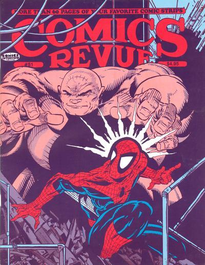 Cover for Comics Revue (Manuscript Press, 1985 series) #51