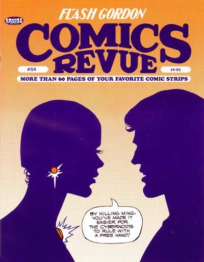 Cover for Comics Revue (Manuscript Press, 1985 series) #54