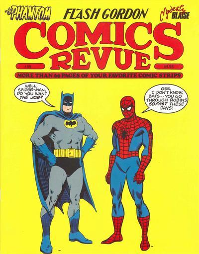 Cover for Comics Revue (Manuscript Press, 1985 series) #55