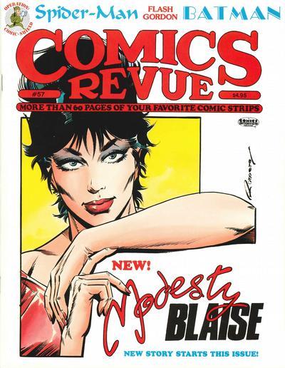 Cover for Comics Revue (Manuscript Press, 1985 series) #57