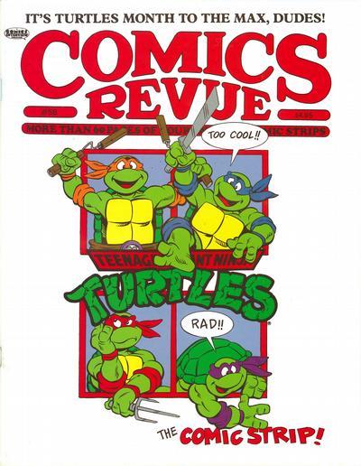 Cover for Comics Revue (Manuscript Press, 1985 series) #58