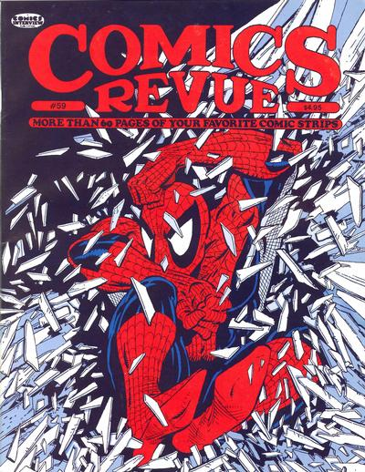 Cover for Comics Revue (Manuscript Press, 1985 series) #59