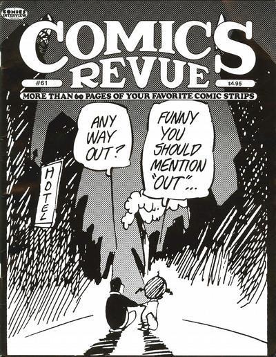 Cover for Comics Revue (Manuscript Press, 1985 series) #61