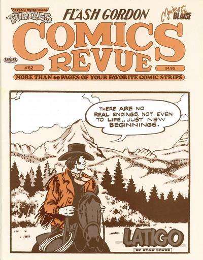 Cover for Comics Revue (Manuscript Press, 1985 series) #62