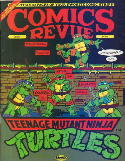Cover for Comics Revue (Manuscript Press, 1985 series) #64