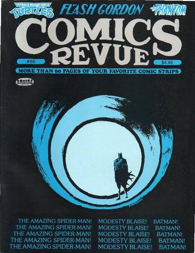 Cover for Comics Revue (Manuscript Press, 1985 series) #65