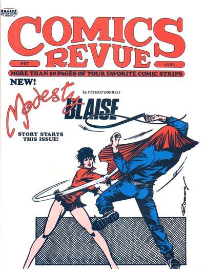 Cover for Comics Revue (Manuscript Press, 1985 series) #67