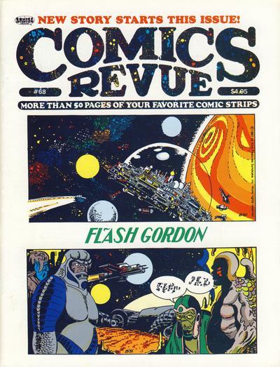 Cover for Comics Revue (Manuscript Press, 1985 series) #68