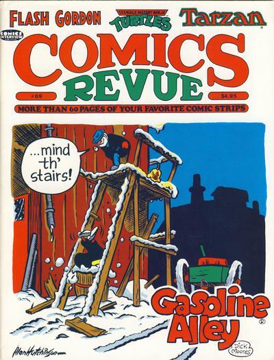 Cover for Comics Revue (Manuscript Press, 1985 series) #69
