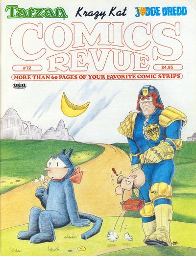 Cover for Comics Revue (Manuscript Press, 1985 series) #72