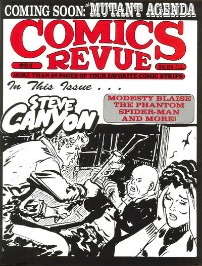 Cover for Comics Revue (Manuscript Press, 1985 series) #94