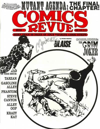 Cover for Comics Revue (Manuscript Press, 1985 series) #99