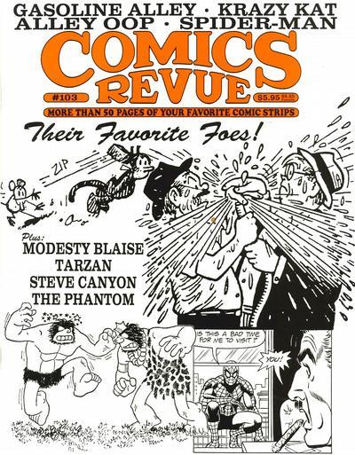 Cover for Comics Revue (Manuscript Press, 1985 series) #103