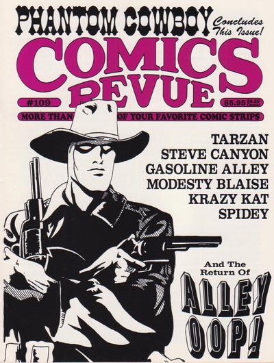 Cover for Comics Revue (Manuscript Press, 1985 series) #109