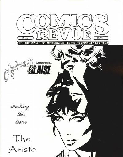 Cover for Comics Revue (Manuscript Press, 1985 series) #110