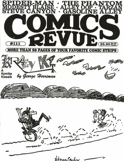 Cover for Comics Revue (Manuscript Press, 1985 series) #111