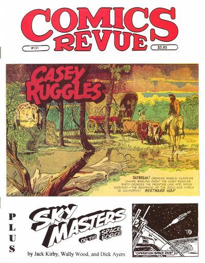 Cover for Comics Revue (Manuscript Press, 1985 series) #131