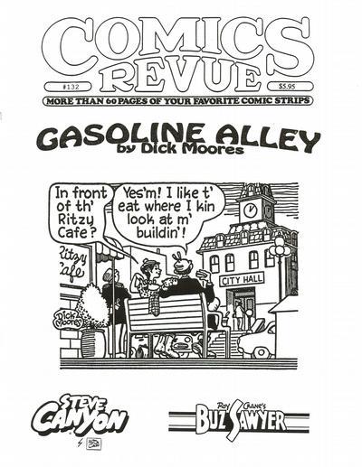 Cover for Comics Revue (Manuscript Press, 1985 series) #132