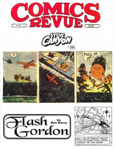 Cover for Comics Revue (Manuscript Press, 1985 series) #133
