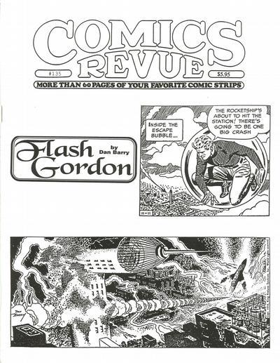 Cover for Comics Revue (Manuscript Press, 1985 series) #135