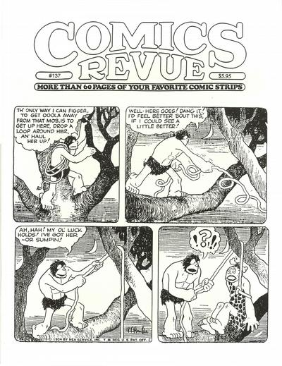Cover for Comics Revue (Manuscript Press, 1985 series) #137