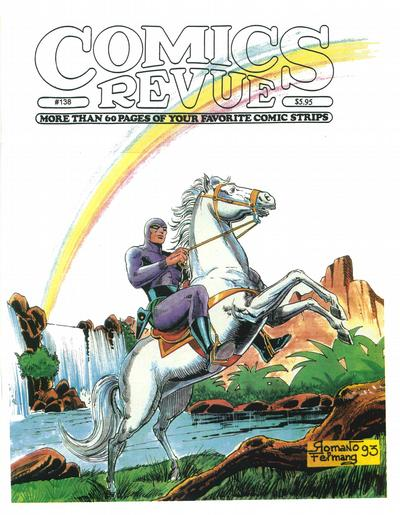 Cover for Comics Revue (Manuscript Press, 1985 series) #138