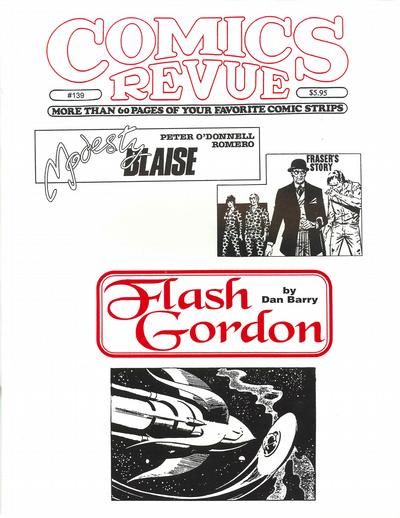 Cover for Comics Revue (Manuscript Press, 1985 series) #139