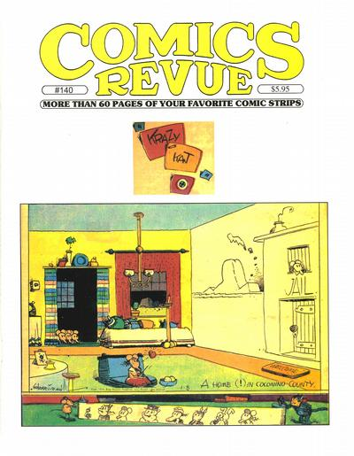 Cover for Comics Revue (Manuscript Press, 1985 series) #140