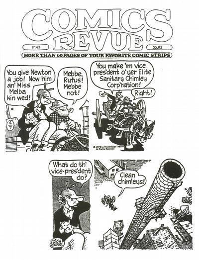 Cover for Comics Revue (Manuscript Press, 1985 series) #143