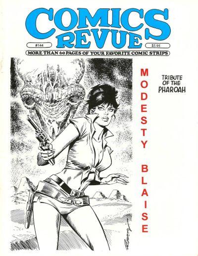 Cover for Comics Revue (Manuscript Press, 1985 series) #144