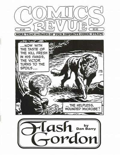 Cover for Comics Revue (Manuscript Press, 1985 series) #146
