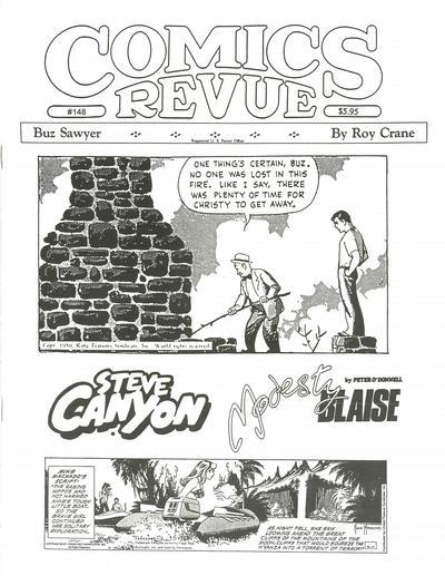 Cover for Comics Revue (Manuscript Press, 1985 series) #148