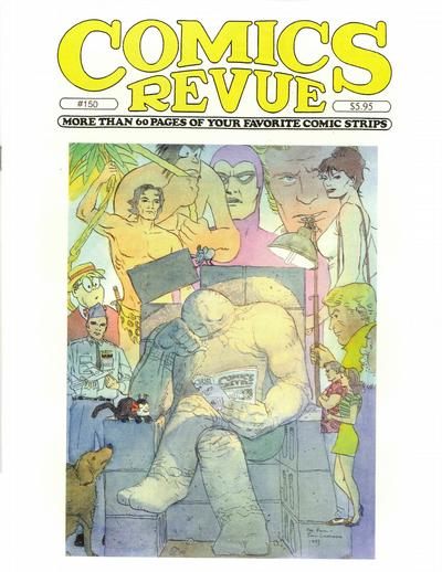 Cover for Comics Revue (Manuscript Press, 1985 series) #150