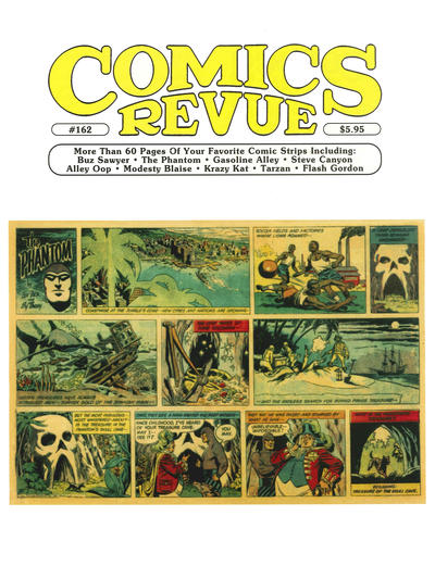 Cover for Comics Revue (Manuscript Press, 1985 series) #162