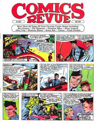 Cover for Comics Revue (Manuscript Press, 1985 series) #163