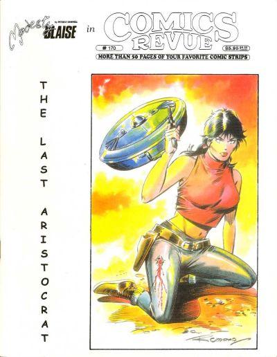 Cover for Comics Revue (Manuscript Press, 1985 series) #170