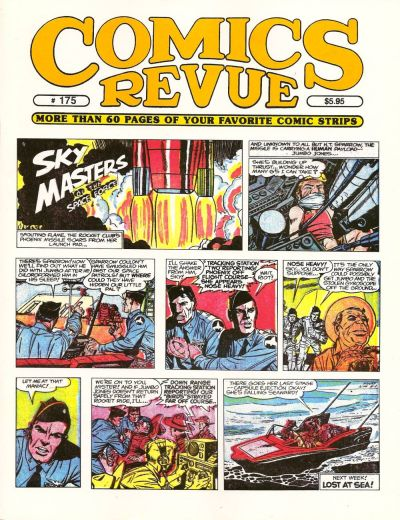 Cover for Comics Revue (Manuscript Press, 1985 series) #175