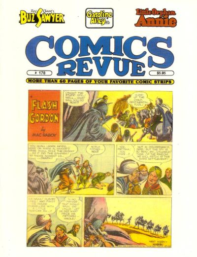 Cover for Comics Revue (Manuscript Press, 1985 series) #178