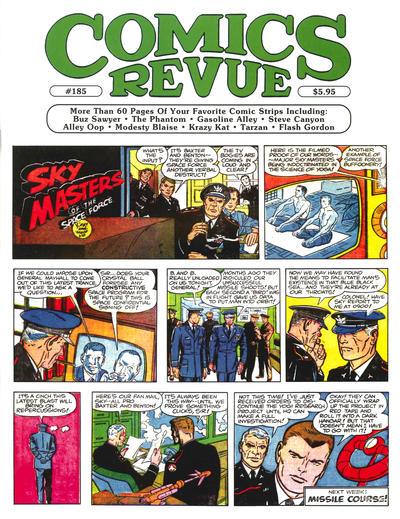 Cover for Comics Revue (Manuscript Press, 1985 series) #185