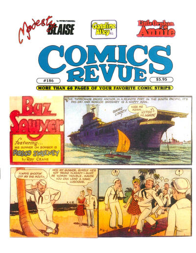 Cover for Comics Revue (Manuscript Press, 1985 series) #186