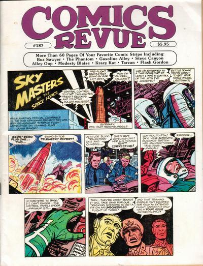 Cover for Comics Revue (Manuscript Press, 1985 series) #187