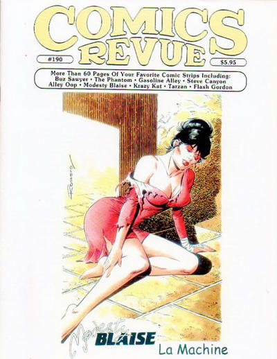 Cover for Comics Revue (Manuscript Press, 1985 series) #190