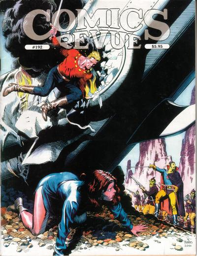 Cover for Comics Revue (Manuscript Press, 1985 series) #192