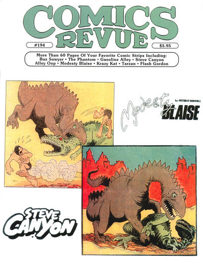 Cover for Comics Revue (Manuscript Press, 1985 series) #194
